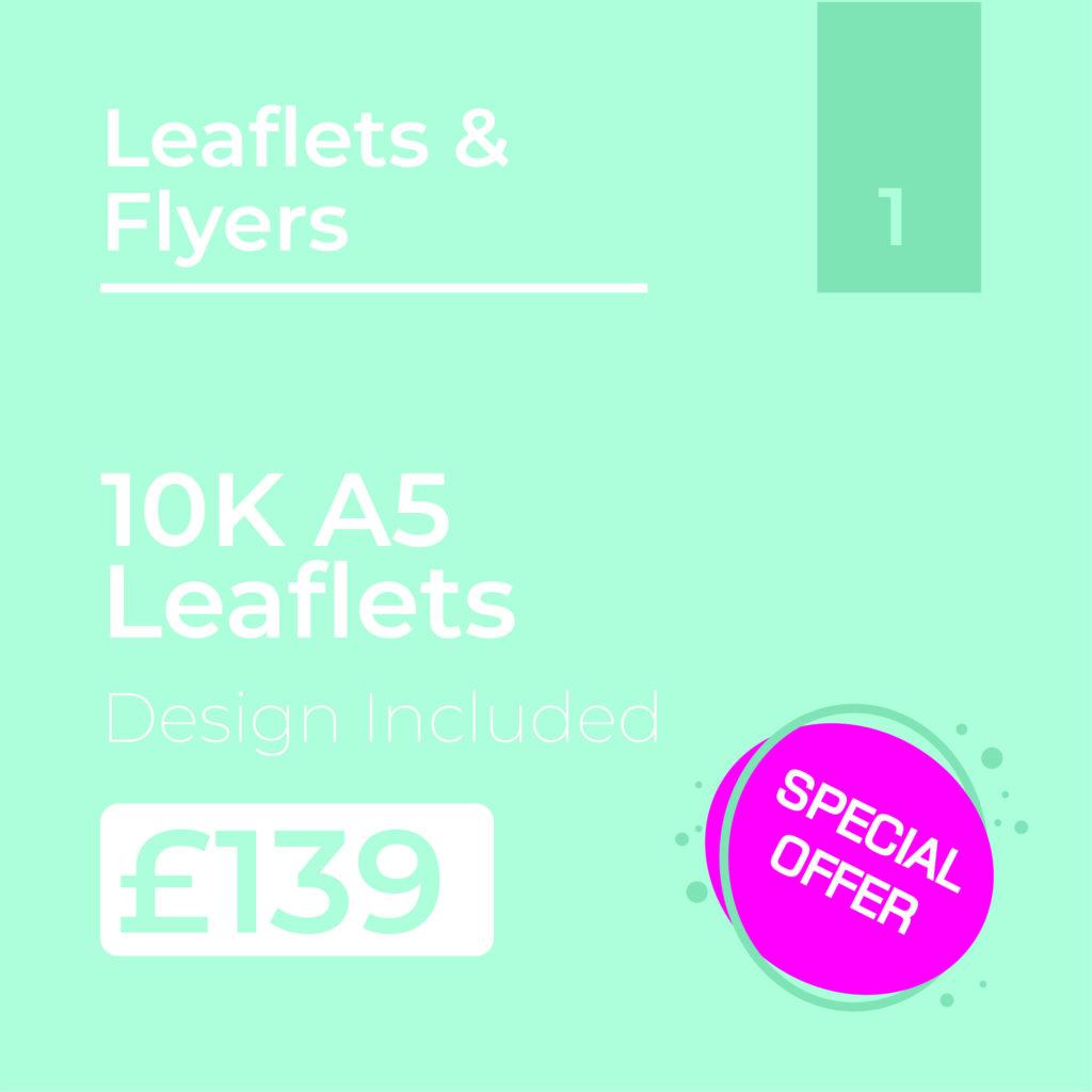 Leaflets Offer