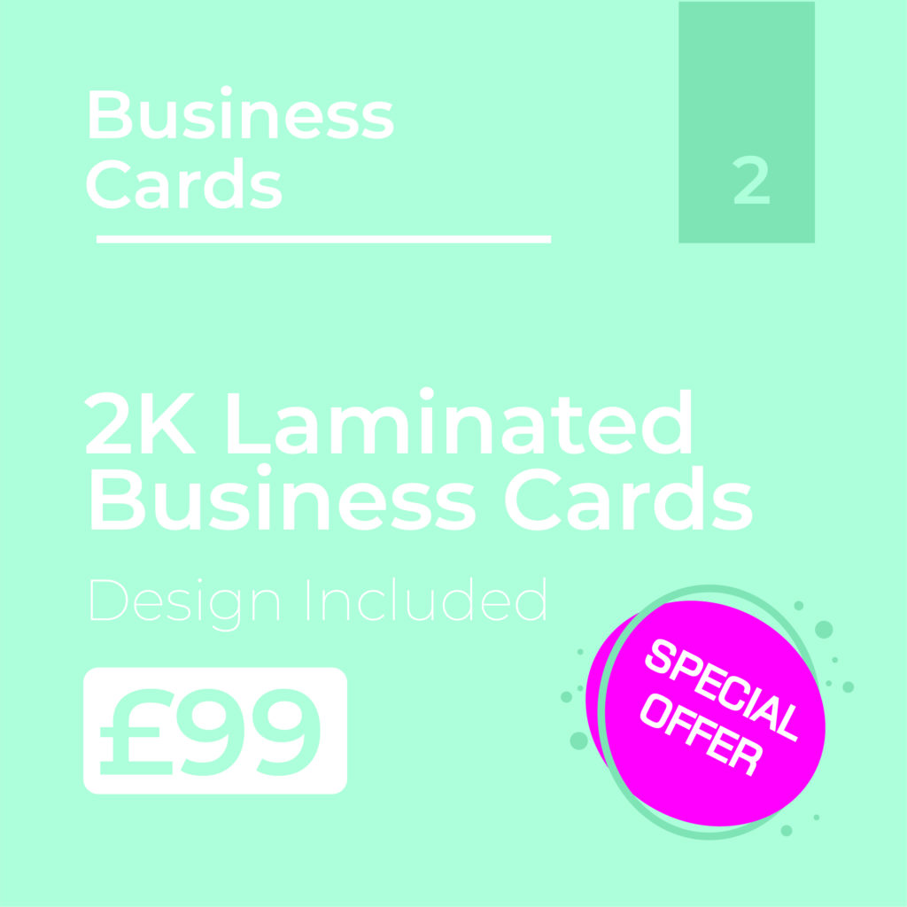Business Cards Offer