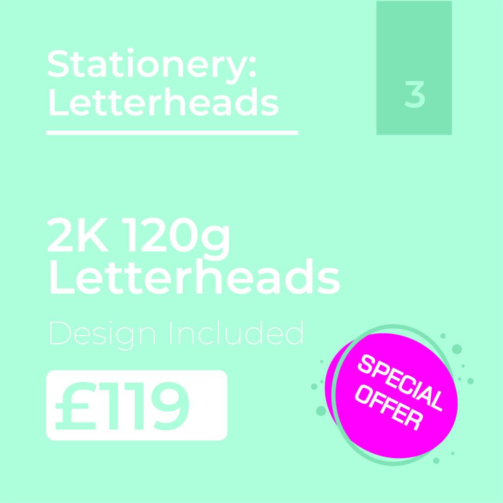Letterheads Offer