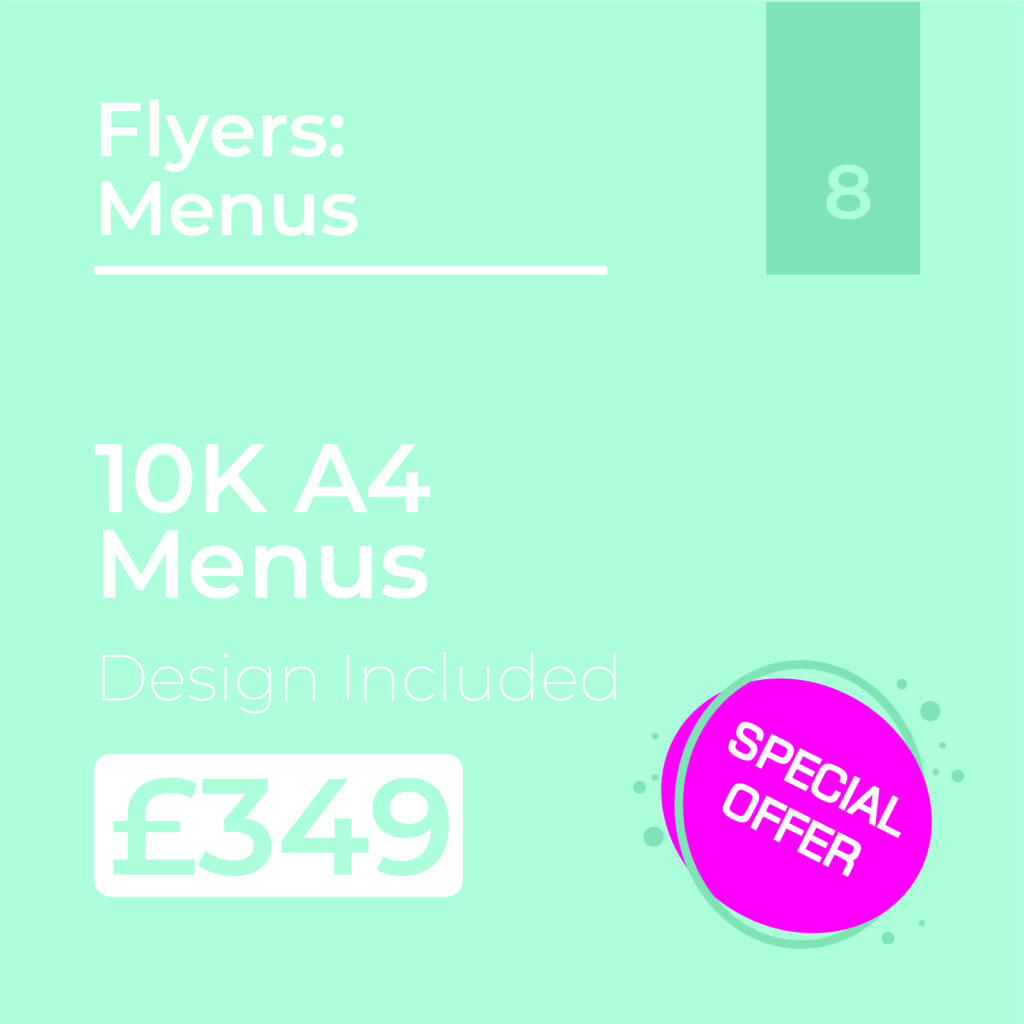 Menus Offer